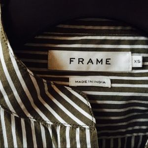 Frame Bell Sleeve Button Down
